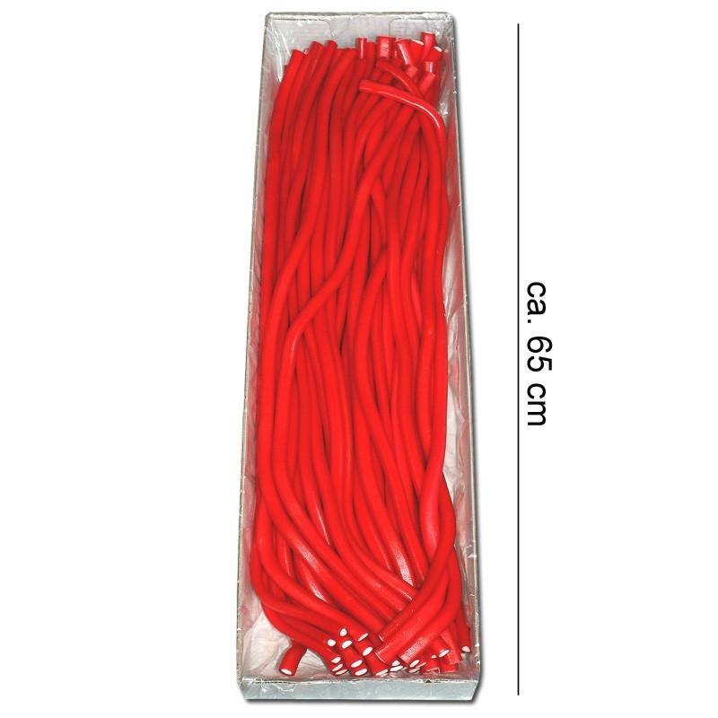 Meterkabel-Erdbeere-Fruchtgummi-Stange-40-Stueck