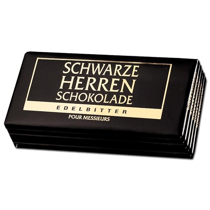 Schwarze-Herren-Schokolade-100g-5-Tafeln