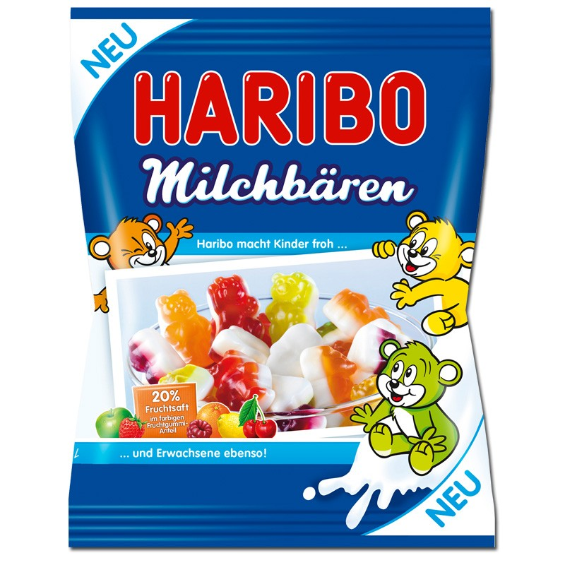 Haribo-Milchbären-Fruchtgummi-175g-Beutel