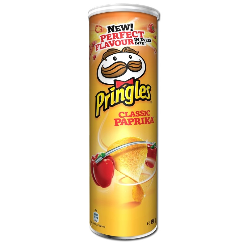 Pringles-Classic-Paprika-Chips-190g-Dose