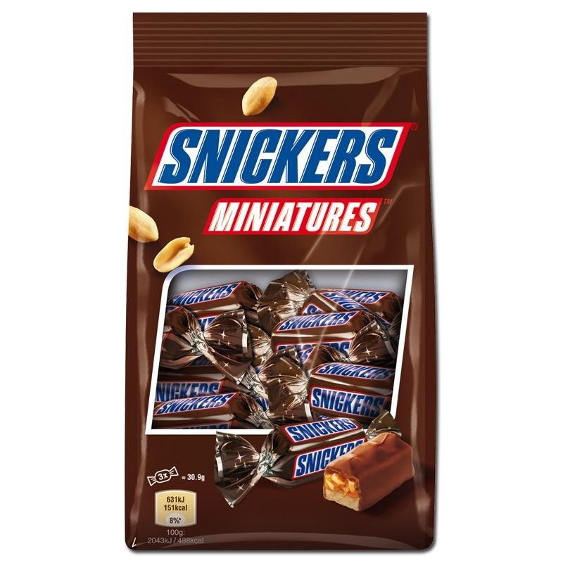 Snickers-Miniatures-Riegel-Schokolade-150g-Beutel