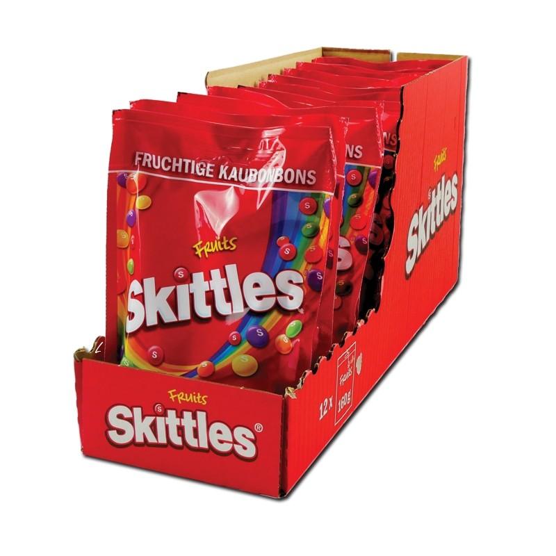 Skittles-Fruits-174g-Bonbons-Dragees-14-Beutel