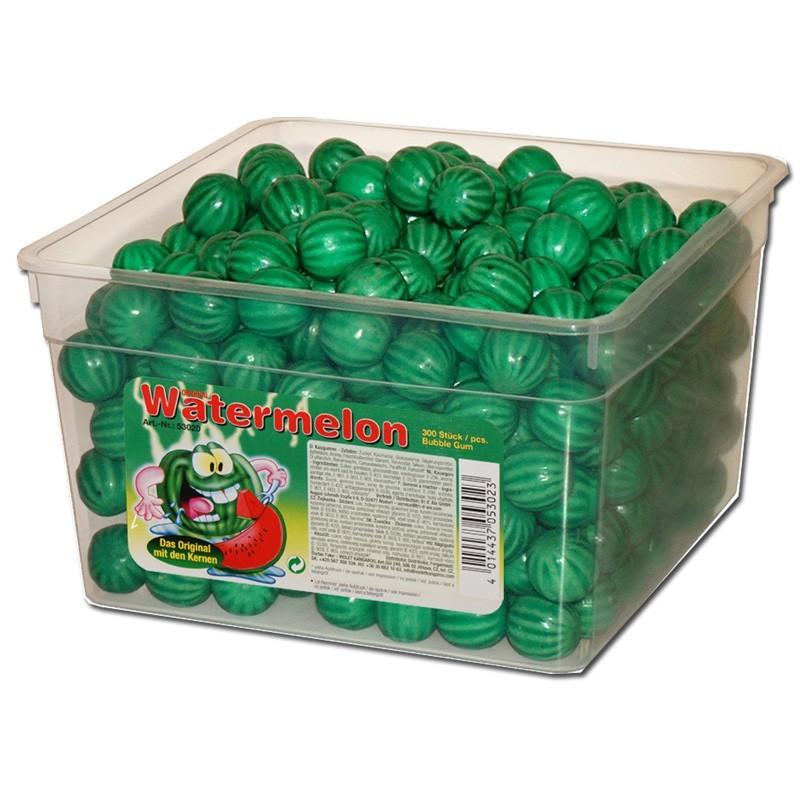 Wassermelone-Kaugummi-Kugeln-extra-sauer-300-Stueck