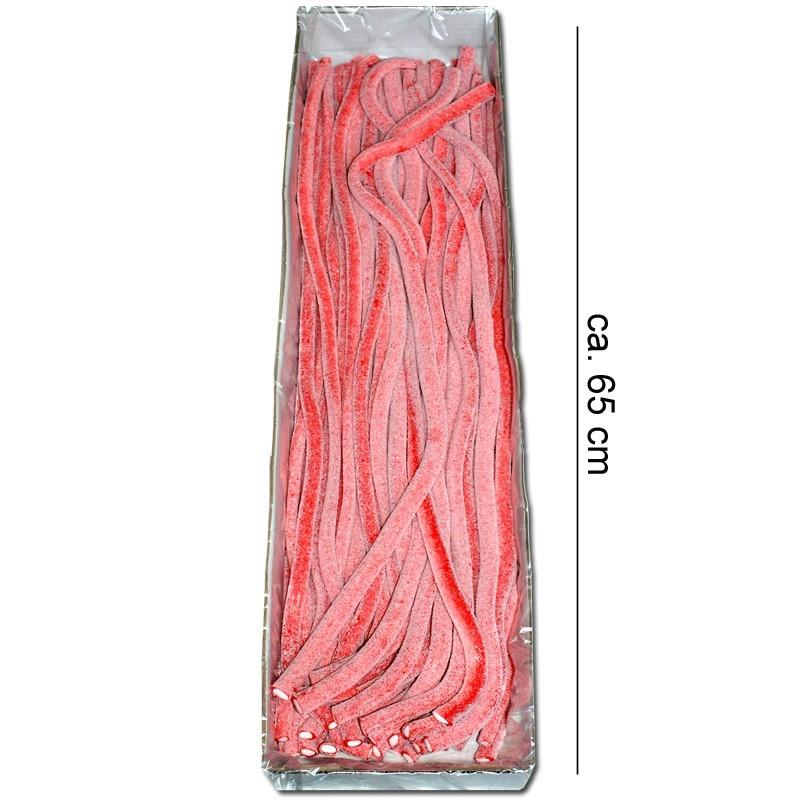 Meterkabel-saure-Erdbeere-Fruchtgummi-Konfekt-40-Stueck