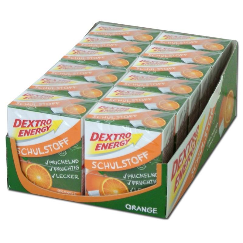 Dextro-Energy-Schulstoff-Orange-12-Packungen