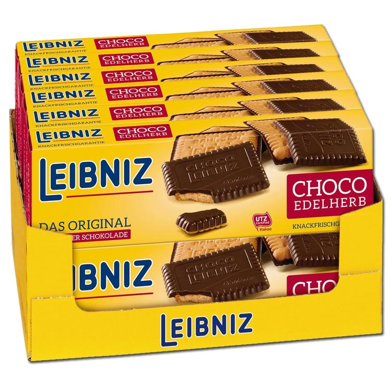 Bahlsen-Leibniz-Choco-Edelherb-Kekse-Gebäck-12-Packungen-je-125g