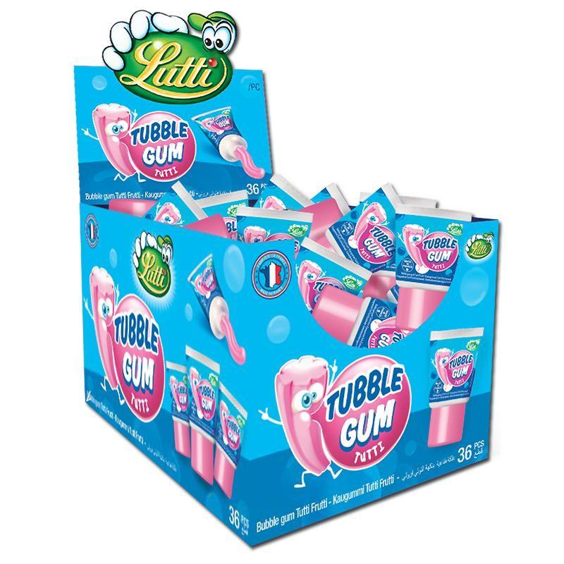Tubble-Gum-Tutti-FruttiTuben-Kaugummi-Frucht-36-Stueck