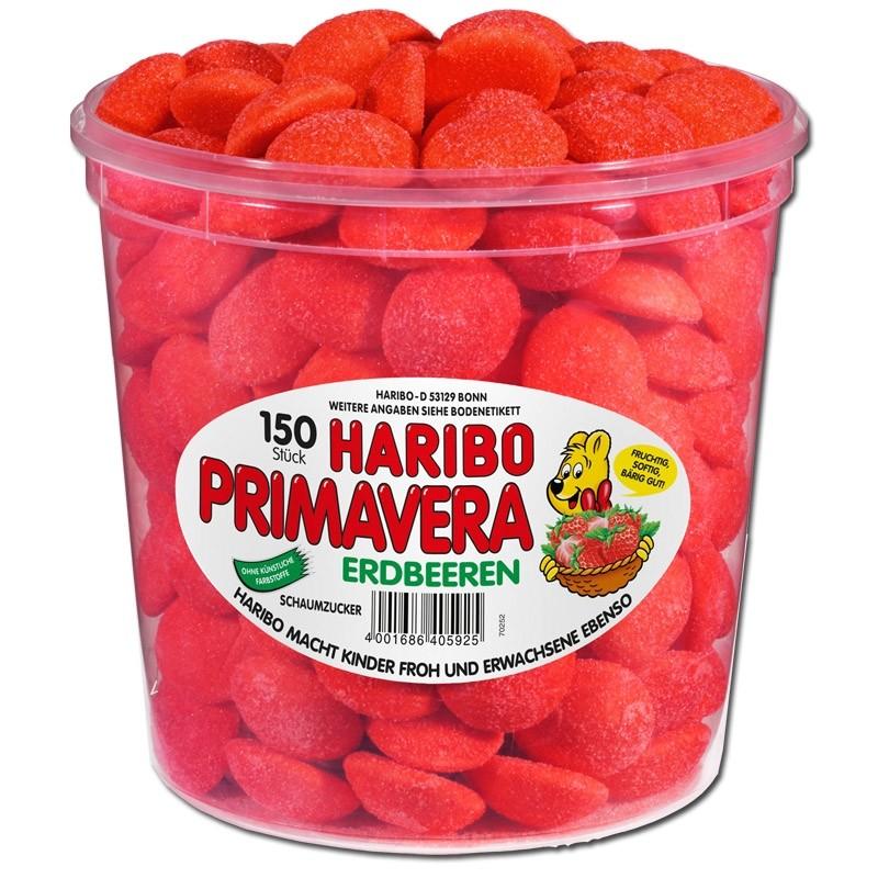 Haribo-Primavera-Erdbeeren-Schaumzucker-150-Stueck