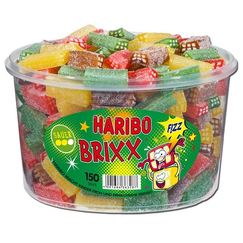 Haribo-Brixx-sauer-Fruchtgummi-Konfekt-150-Stück