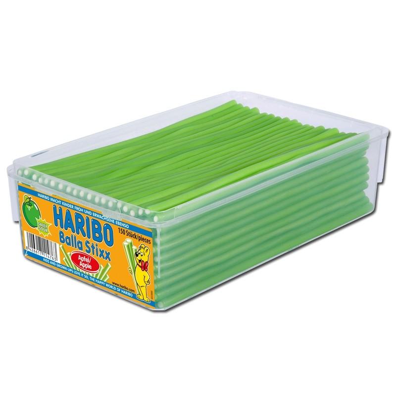 Haribo-Balla-Balla-Saurer-Apfel-Fruchtgmmi-Konfekt-150-St