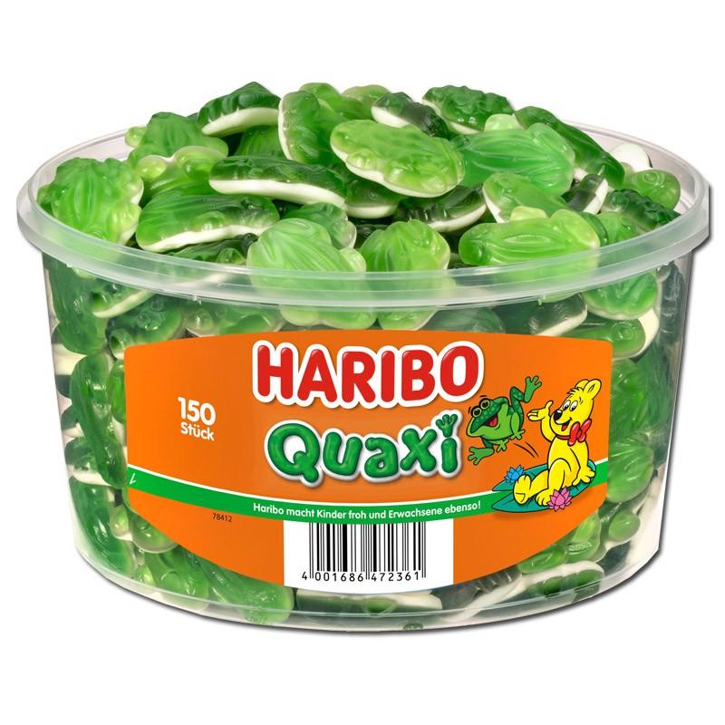 Haribo-Froesche-Fruchtgummi-Schaumzucker-150-Stueck