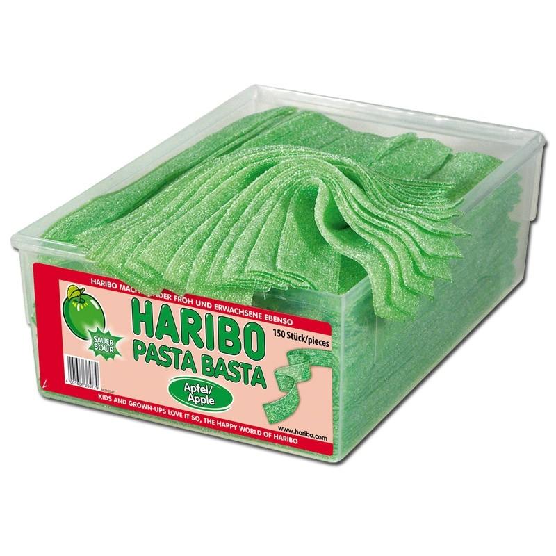 Haribo-Pasta-Basta-Apfel-Fruchtgummi-sauer-150-Stueck