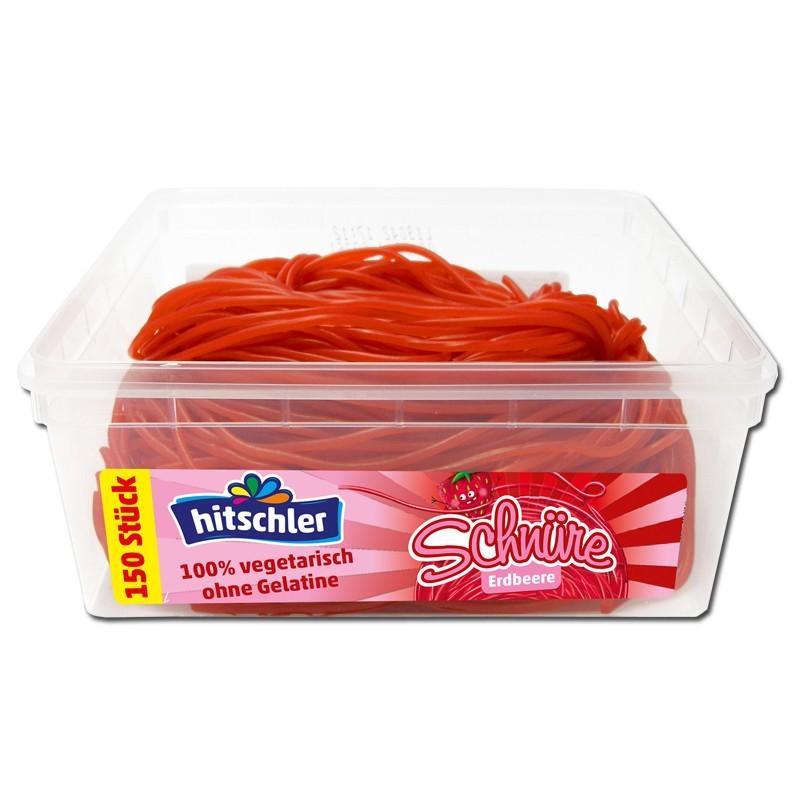 Hitschler-Erdbeer-Schnuere-Fruchtgummi-150-Stueck