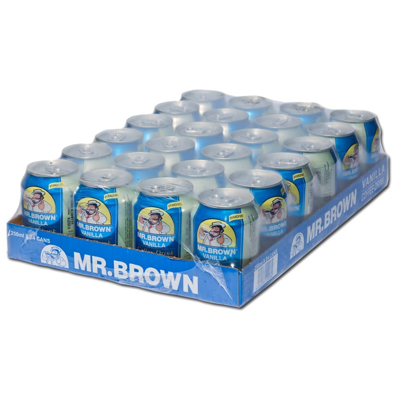 Mr-Brown-Vanilla-Coffee-250ml-Kaffee-Getraenk-24-Dosen_1