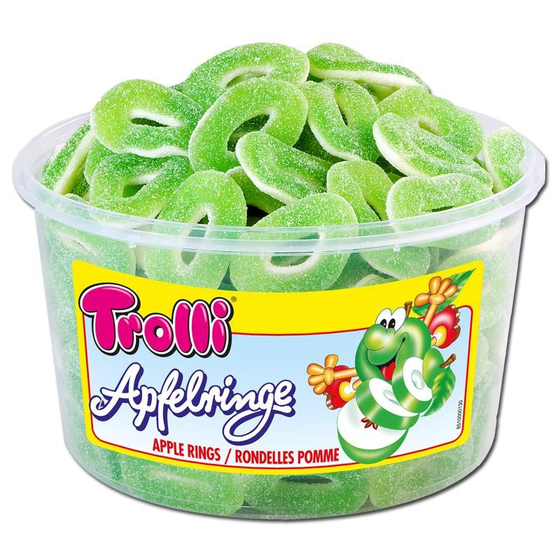 Trolli-Saure-Apfelringe-Fruchtgummi-150-Stueck