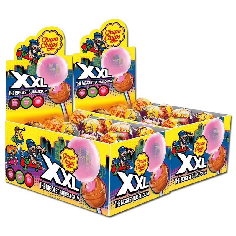 Chupa-Chups-XXL-Lutscher-Lollipop-und-Kaugummi-50-Stk
