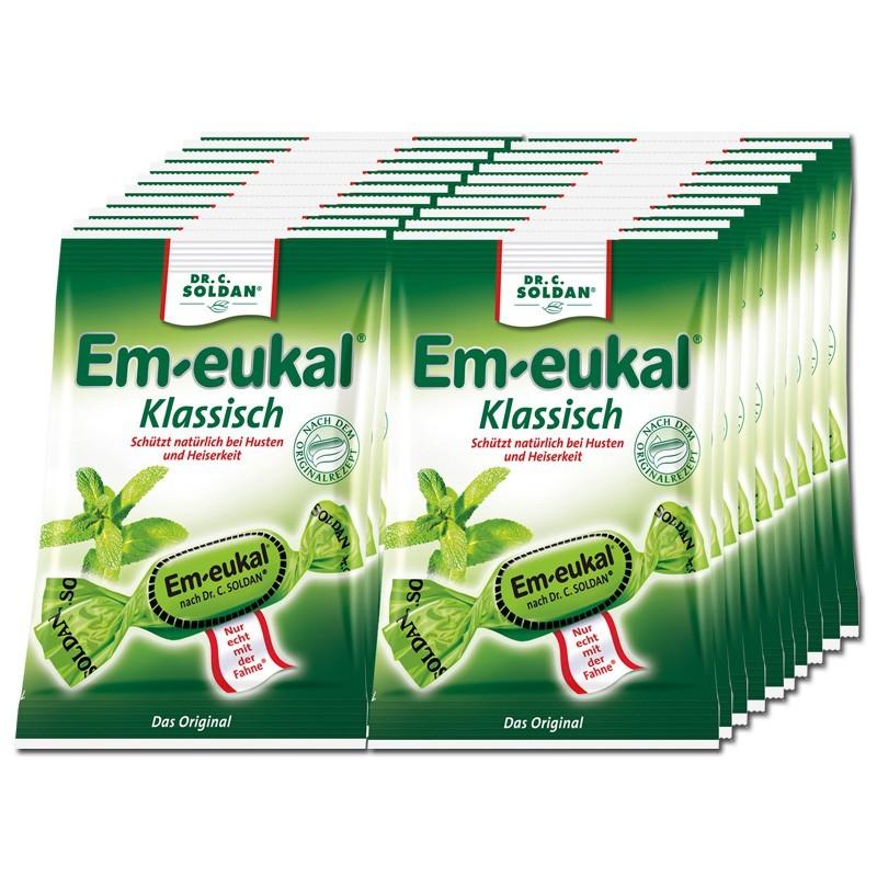Em-eukal-Klassisch-Bonbons-75g-Hustenbonbon-20-Beutel