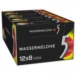 Wrigley-5-Gum-Wassermelone-Cubes-12-Packungen-je-185g