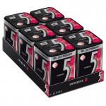 Wrigleys-5-Gum-Strawberry-Erdbeere-Kaugummi-6-Dosen