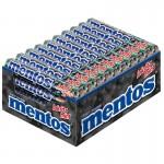 Mentos Lakritz-Mint Rolle, Kau-Bonbon, Dragee, 40 Stück