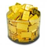 Milch-Schokoladen-Goldbarren-50mm-x-30mm-260-Stueck