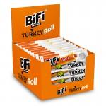 Bifi Roll Turkey, Snack, Geflügel-Salami, 24 Stück je 45g